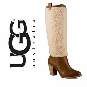 UGG Ava Exposed Authentic Sheepskin fur Boots 7